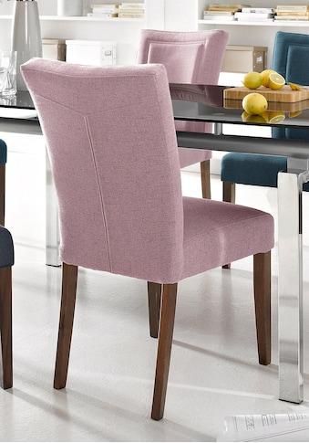 Home affaire 4-Fußstuhl »Zena«, Gestell aus Massivholz kaufen