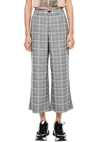 Q/S designed by Culotte, im Glencheck-Muster kaufen