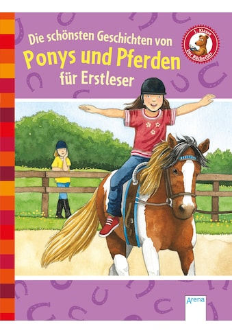 Buch Die schönsten Geschichten von Ponys und Pferden für Erstleser / Sarah Bosse; Margot Berger; Manfred Mai; Milada Krautmann; Anne Ebert kaufen
