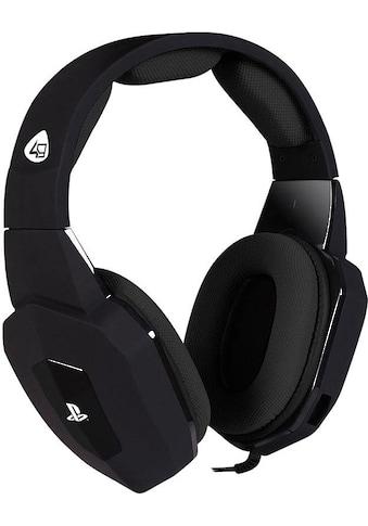 4Gamers Gaming-Headset »PRO4-80 Stereo«, Mikrofon abnehmbar kaufen