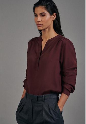 seidensticker Klassische Bluse »Schwarze Rose«, Tunika Uni kaufen
