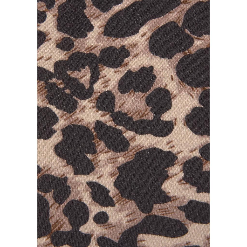 LASCANA Strandkleid, mit Animalprint
