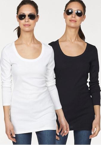 Flashlights Langarmshirt, in Longform kaufen