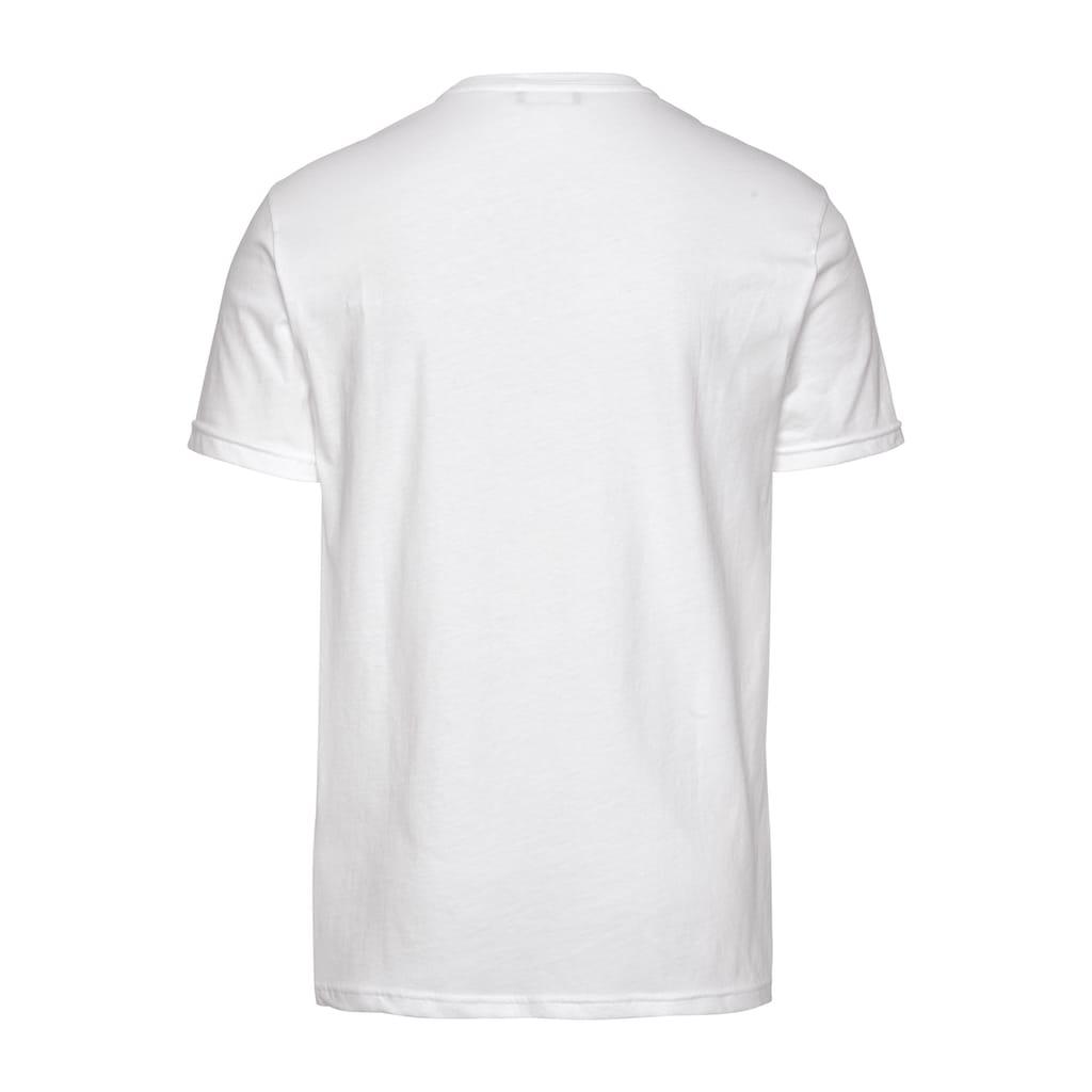 United Colors of Benetton T-Shirt, unifarben meliert
