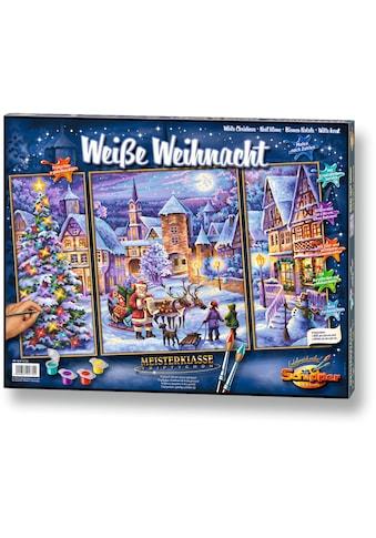 """Schipper Malen nach Zahlen """"Meisterklasse Triptychon Weiße Weihnacht"""" kaufen"""