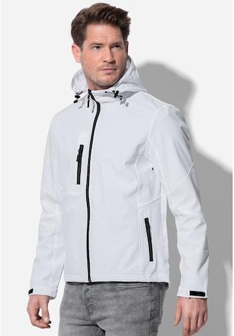 Stedman Softshelljacke »Outdoor Softshell Hooded«, mit Taucherkapuze kaufen