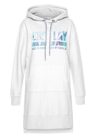 Replay Sommerkleid, mit glänzendem Logo-Print als Blickfang kaufen