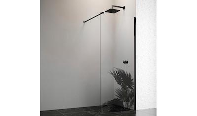 welltime by GEO Walk-in-Dusche, 80 cm, schwarz kaufen