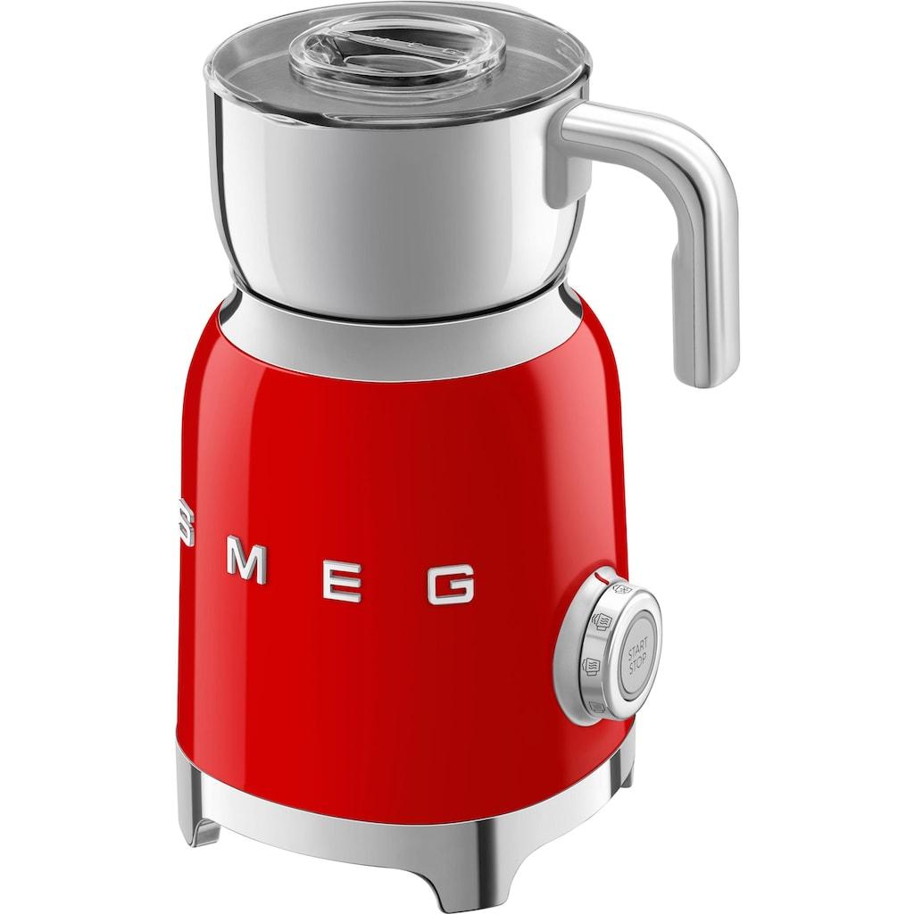 Smeg Milchaufschäumer »MFF01RDEU«, 500 W, Induktion