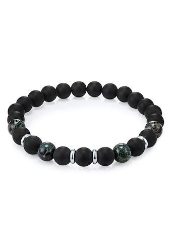 True Rebels Armband »50060018«, mit Achat und Kambaba Jaspis kaufen