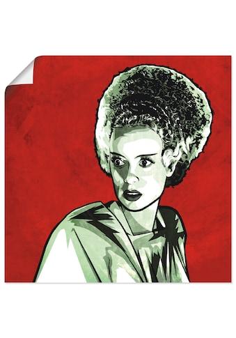 Artland Wandbild »Braut«, Frau, (1 St.), in vielen Größen & Produktarten - Alubild /... kaufen