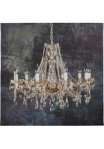 Home affaire Leinwandbild »Kronleuchter«, 80x80 cm, Home affaire kaufen
