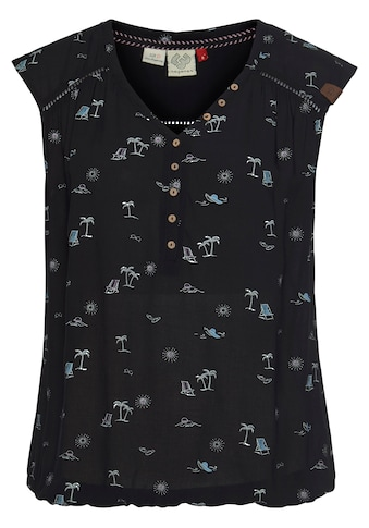 Ragwear Shirttop »SALTY A«, mit sommerlichem Palmen-Allover-Druck kaufen