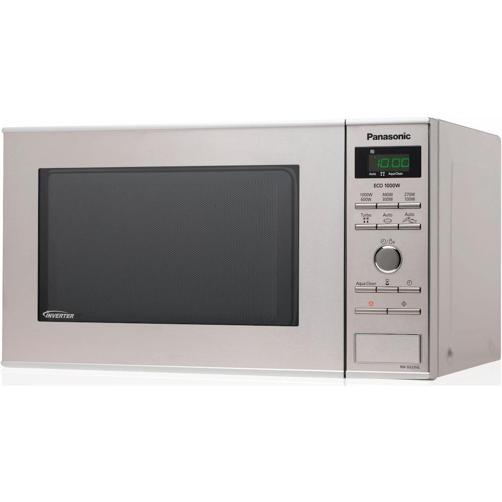 Panasonic Mikrowelle »NN-SD27HSGTG«, Mikrowelle, 1000 W, Inverter Mikrowelle