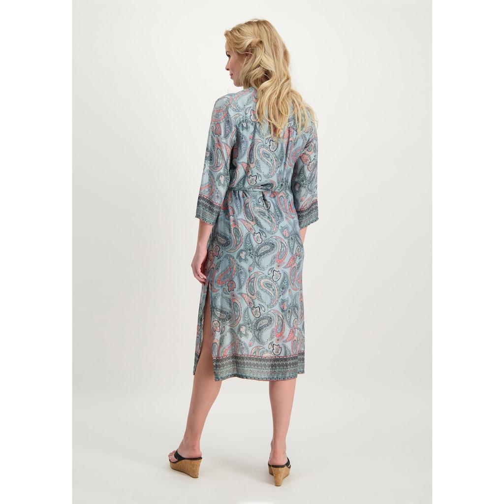 Loom&Lace Maxikleid mit Paisley-Allover-Druck und Gürtel