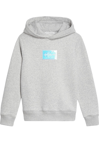 Calvin Klein Jeans Kapuzensweatshirt »MONOGRAM BADGE HOODIE«, mit Logo Label kaufen
