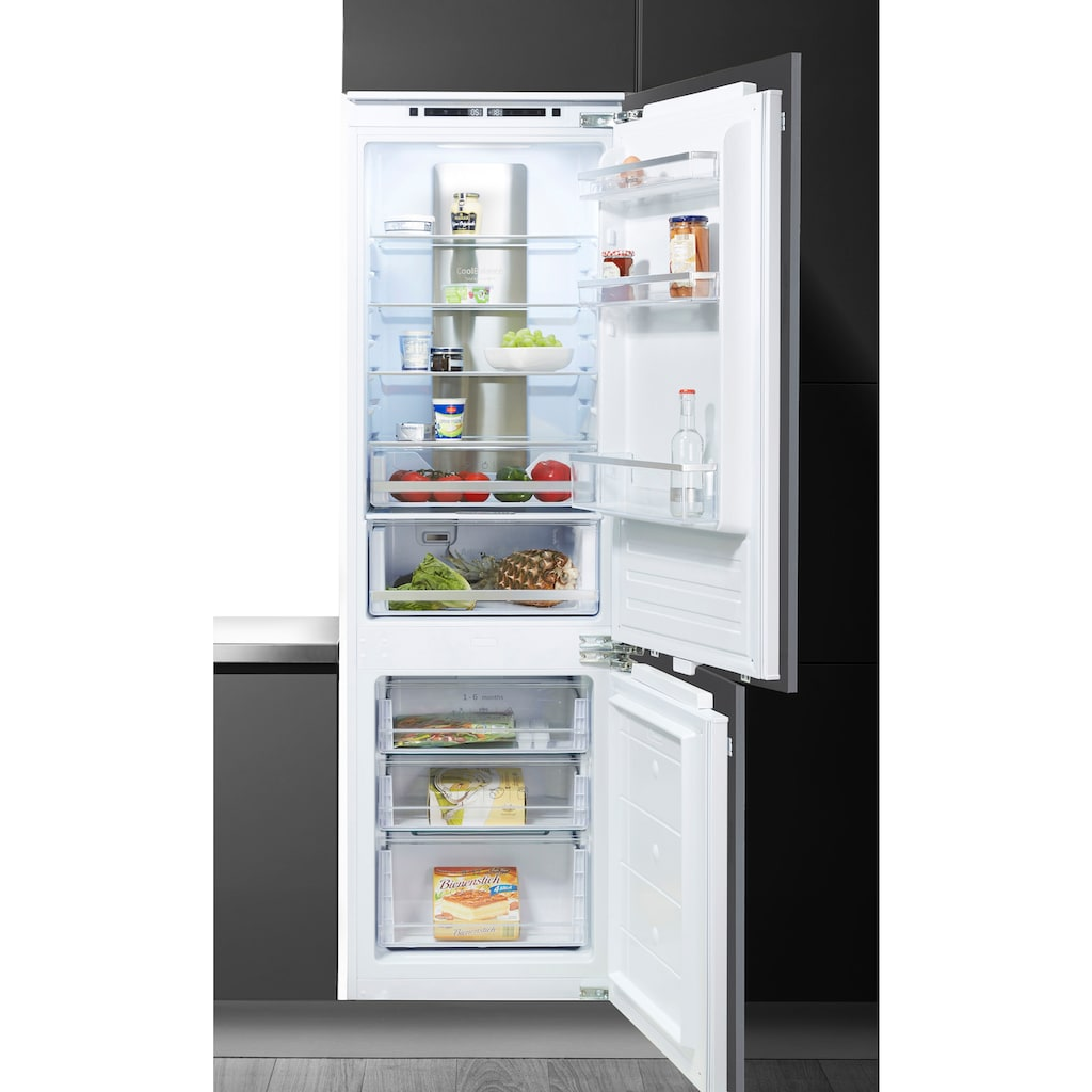 Amica Einbaukühlgefrierkombination »EKGCX 387 951«