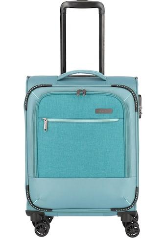 """travelite Weichgepäck - Trolley """"Arona, 55 cm, aqua"""", 4 Rollen kaufen"""