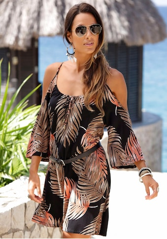 LASCANA Longshirt, mit trendigen Cut-outs kaufen