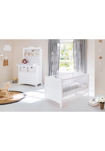 Pinolino® Babyzimmer-Komplettset »Florentina«, (Set, 3 tlg.), breit mit Regalaufsatz; Made in Europe kaufen