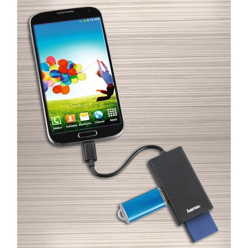 Hama USB-2.0-Type-C-Hub/Kartenleser