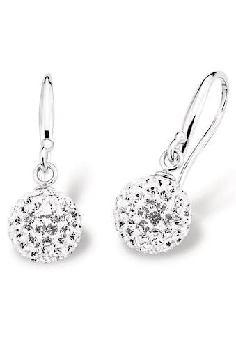 Amor Paar Ohrhaken »9696390«, mit Kristallglassteinen kaufen