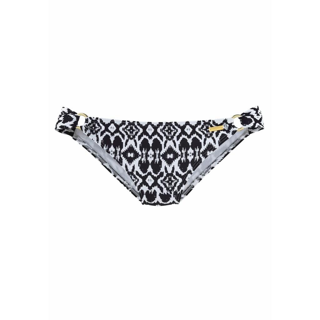 LASCANA Bikini-Hose »Grace«, mit goldenen Zierringen