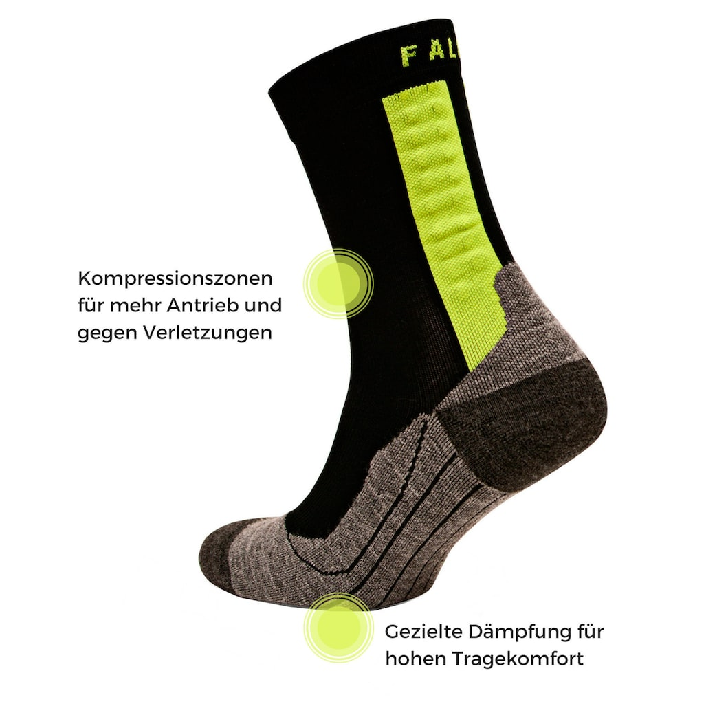 FALKE Funktionssocken »Achilles«, (1 Paar), hilft bei Achillessehnen-Beschwerden