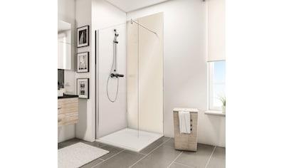 Schulte Duschrückwand »Decodesign«, Hochglanz, Creme-Beige, 100 x 255 cm kaufen