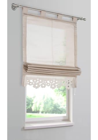 my home Raffrollo »VENEDIG«, mit Schlaufen kaufen