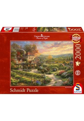 Schmidt Spiele Puzzle »In den Weinbergen«, Thomas Kinkade kaufen