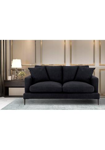 Leonique 2-Sitzer »Cozy«, mit losen Kissen und Metallbeinen kaufen
