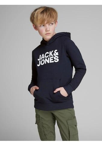 Jack & Jones Junior Kapuzensweatshirt, unifarben kaufen