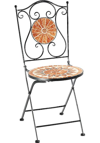 locker Klappstuhl »Metallklappstuhl, Mosaik, nicht frostsicher« kaufen