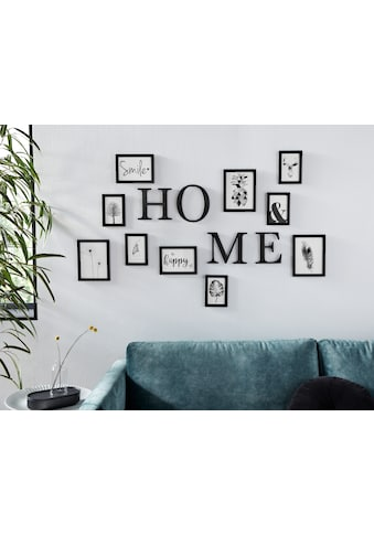 my home Bilderrahmen, für 10 Bilder, (14-teilig), mit Schriftzug kaufen