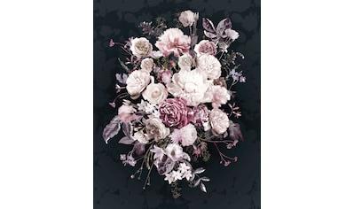 Komar Fototapete »Bouquet Noir«, bedruckt-floral kaufen