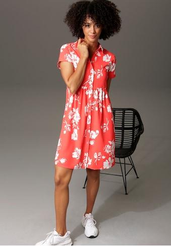 Aniston CASUAL Blusenkleid, mit Blumendruck - NEUE KOLLEKTION kaufen