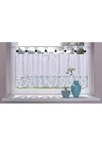 Home affaire Scheibengardine »Flora« kaufen