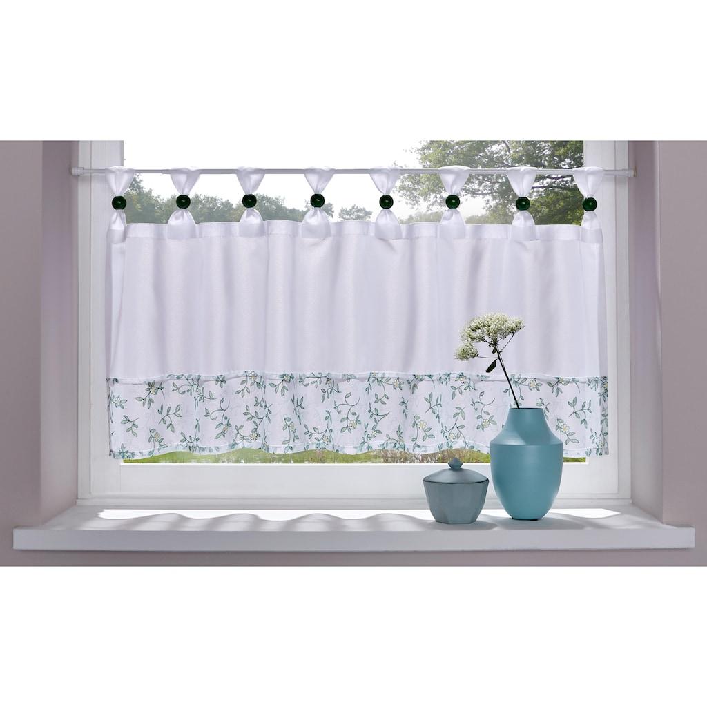 Home affaire Scheibengardine »Flora«