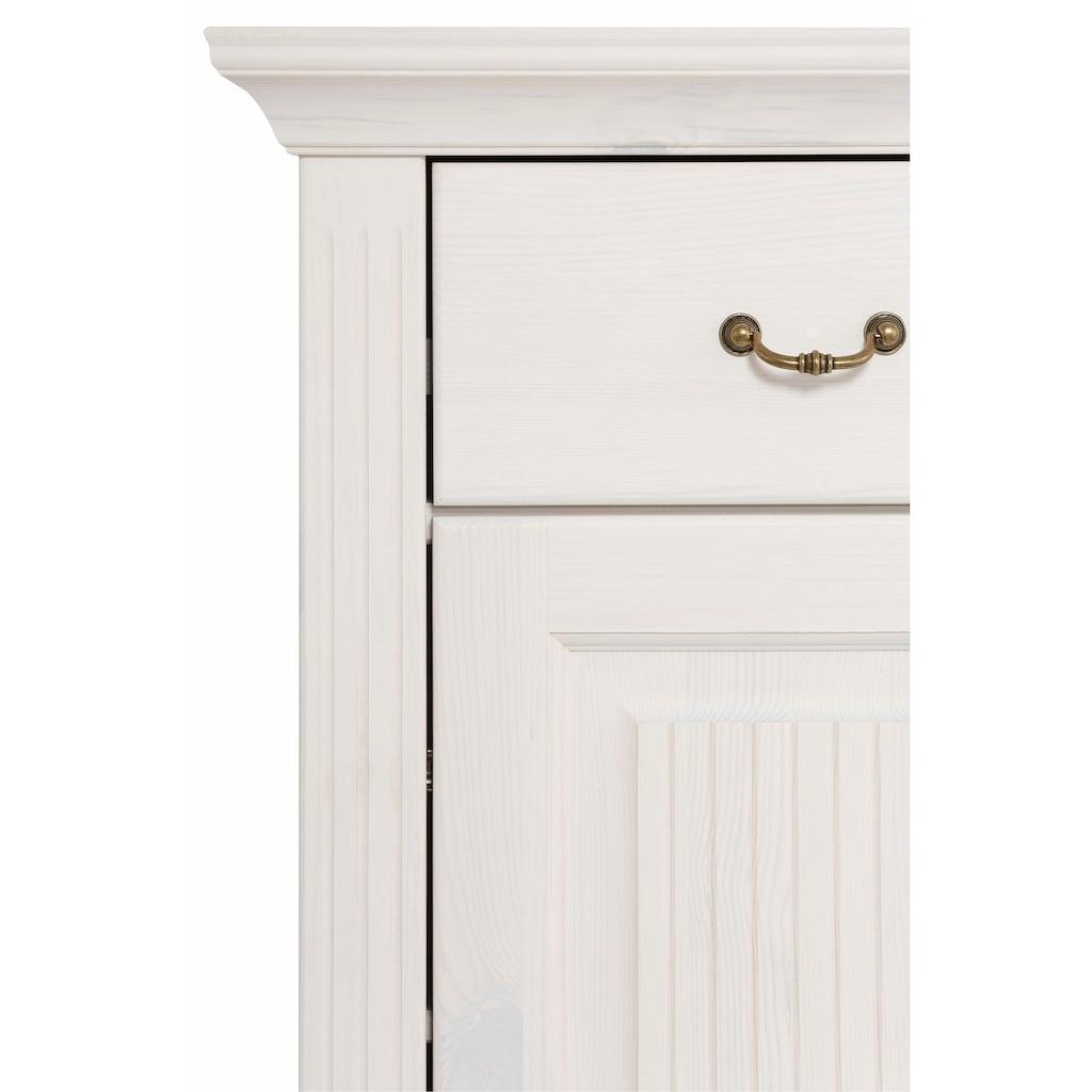 Home affaire Kommode »Irma«, mit dekorativen Fräsungen, Breite: 86 cm