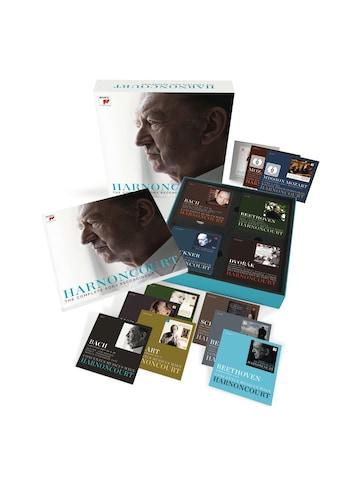 Musik-CD »Nikolaus Harnoncourt - The Complete Sony Recording / Harnoncourt,Nikolaus« kaufen
