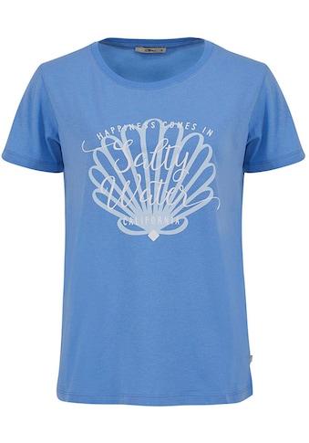 LTB Kurzarmshirt »SADIFA«, mit Muschel Aufdruck und Wording kaufen