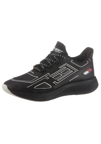 Tommy Hilfiger Sport Keilsneaker »TS PRO 2 WOMEN«, mit farbigen Highlights kaufen