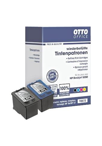 Otto Office Tintenpatronen-Set ersetzt HP Nr. 56 / 57 kaufen