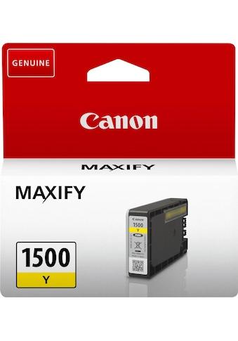 Canon Tintenpatrone »PGI-1500Y«, (1 St.) kaufen