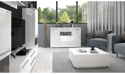 Places of Style Couchtisch »Piano«, hochwertig UV lackiert, mit zwei Schubladen inkl. Soft-Close Funktion kaufen