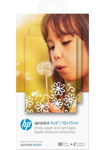 HP Fotopapier »4KK83A HP Sprocket«, 10 x 15 cm kaufen