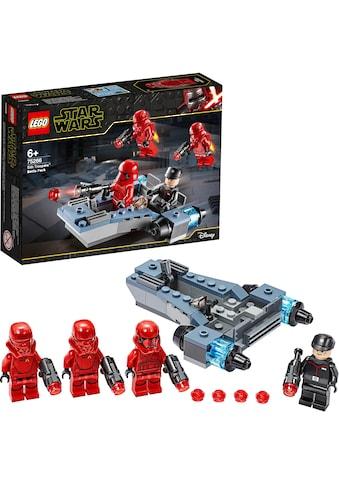 "LEGO® Konstruktionsspielsteine ""Sith Troopers™ Battle Pack (75266), LEGO® Star Wars™"", Kunststoff, (105 - tlg.) kaufen"