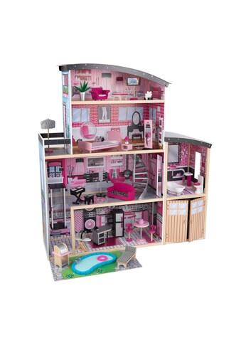 KidKraft® Puppenhaus »Glitzer Puppen-Villa«, inkl. 30-tlg. Möbelset kaufen