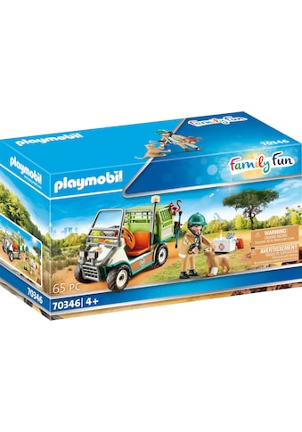 Playmobil® Konstruktions-Spielset »Zoo-Tierarzt mit Fahrzeug (70346), Family Fun«, (65... kaufen